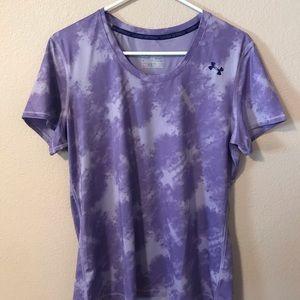 Tie dye workout shirt - Under Armor